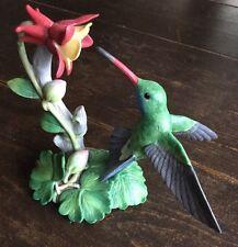 LENOX~Broad-Billed Hummingbird Porcelain Figurine~Garden Bird Collection~1992