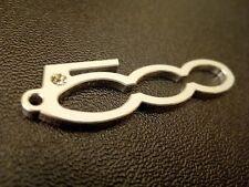 FIAT 500  Schlüsselanhänger mit Swarovski Stein, Tuning, Bling Bling
