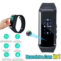 Mini 1080P Bracelet Smart Watch Wristband Camera Spy Hidden HD Video Recorder