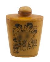 Bottiglia Bottiglietta Boccetta Arte Shunga Erotico Raro Curiosa- GM K 77