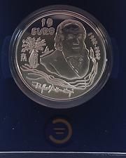 2002 España 10 Euros Plata Centenario Rafael Alberti Proof Euro Coin