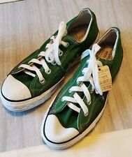 Converse 1970's Deadstock Green Oxford Canvas Usa Sz 4-M 6-W