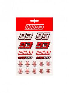 Official Marc Marquez Medium Sticker Set - 19 53007