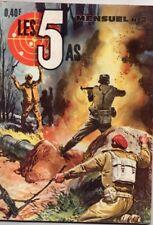 """LES 5 AS mensuel N°2 -  """" mars 1965 """""""