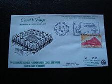 FRANCE - enveloppe 24/1/1977 yt service n° 53 (cy19) french