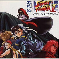 Street fighter Music Soundtrack Japanese Cd Game Street fighter 2 Ii 1994