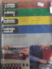 Catalogo 1977 Marklin Mini Club I Sprint Metall - FRA - Tr.3