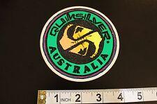 QUIKSILVER Australia Neon Quicksilver Vintage Surfing Decal STICKER