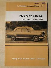 Mercedes Benz Autohandbuch 2 P. Olyslager 180a 180b 190 & 190 b