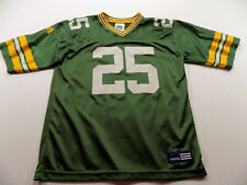 VINTAGE ADIDAS GREEN BAY PACKERS #25 DORSEY LEVENS JERSEY SIZE YOUTH 14-16