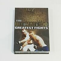 UFC Ultimate Fighting The Ultimate 100 Greatest Fights