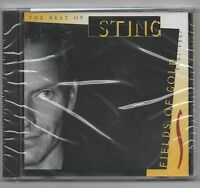 Sting Greatest Hits CD We'll be together , All This Time, Fields of Gold