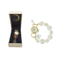 Sailor Moon 20th Anniversary Crystal Beads Bracelet Wrist Watch Anime Gift & Box
