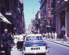Photo. 1966-7. Malta. Kingsway - people, auto
