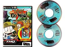 RUGRATS GO WILD & OLDER AND BOLDER DOUBLE PACK. 2 ACTION/ADVENTURE GAMES FOR PC!