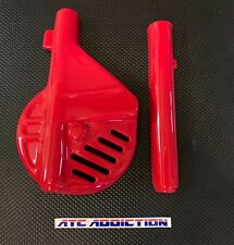 RED 1985 1986 Honda ATC250R Front Disc & Fork Guards! ATC 250R 85 86 Maier