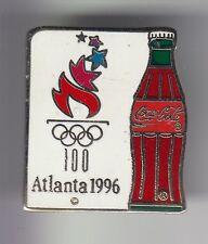 RARE PINS PIN'S .. COCA COLA COKE OLYMPIQUE OLYMPIC ATLANTA 1996 TORCH RELAY ~17
