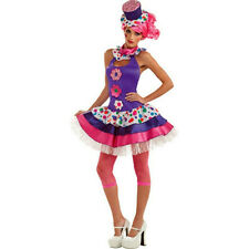 Rubie's Costume Co Women's Jellybean Clown Sexy Adult Costume Medium 6-10