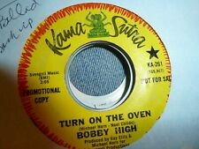 """Bobby High """"turn on the oven"""" funky instr/mod pop ballad Northern soul 7""""/ 45"""