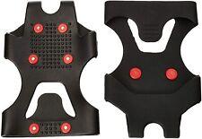 Black Crevice Unisex Schuhspikes Gleitschutz Rostfreie Stahlspikes, Rot, L 42-46