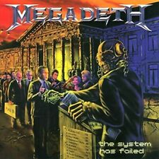 Megadeth - The System Has Failed NEW SEALED 180g LP remastered
