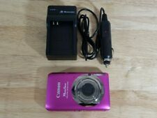 Canon PowerShot ELPH 100 HS 12.1MP Digital Camera Pink w/ Charger