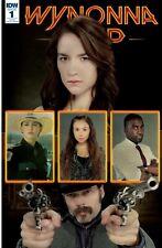 Wynonna Earp #1 SDCC 2016 Convention Variant IDW Melanie Scrofano SyFy WayHaught
