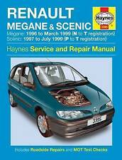 Haynes Workshop Manual Renault Megane Scenic 1996-1999 New Service & Repair