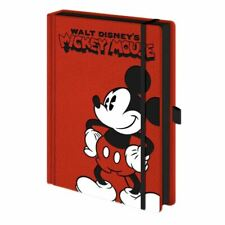 Mickey Mouse Red Premium A5 Hardback Notebook Journal Exercise Book