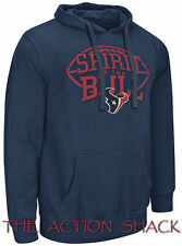 R9 - Houston Texans The Rookie Hoodie - NWT Mens Large Navy / Multi #27907-D6
