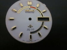 Seiko 5M43, or 5M42, Kinetic watch Dial plate,Yellow color