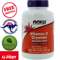 Now Foods - Vitamin C Crystals, 227g and 1361g - 3750% Daily Intake! Vegan