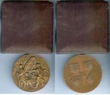 Médaille de table - André BORD secrétaire d'état aux anciens combattants d=68,5m