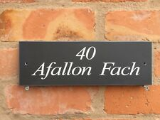 WELSH HOUSE SIGNS IN PREMIUM QUALITY SLATE 300 X 100 CHECK MY EBAY SHOP