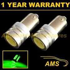 2x Ba9s T4w 233 Xenon verde LED de alta potencia sidelight Laterales Bombillos sl100802