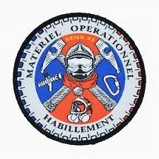 Obsolète écusson Pompier Matériel / Habillement SDIS 21 Patch Sécurité Civile