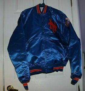 Vintage NY Mets Starter Diamond Collection Bomber Jacket XL Tags Still On