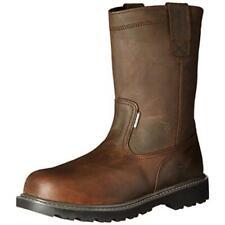 New listing Wolverine Mens Floorhand Wellington Brown Waterproof Boots 10.5 Medium (D) 2774
