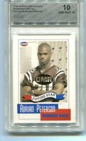 2004 Adrian Peterson OMR Gold of 25 Rookie Gem Mint 10 Rare