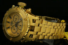 NEWInvicta Men 52mm Specialty Subaqua Swiss Movt Chrono 18K Gold Plated SS Watch