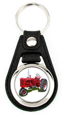 International Harvester Farmall Model Super C farm tractor artwork Key fob