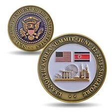 USA No. Korea Summit Collectible Coin - LIMITED EDITION - Trump Singapore 6/12