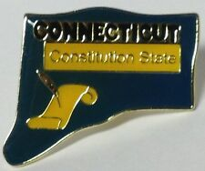 CONNECTICUT STATE LAPEL PIN HAT TAC NEW