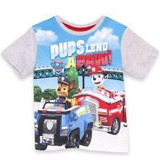 T-shirts, débardeurs et chemises gris 5 ans pour garçon de 2 à 16 ans en 100% coton