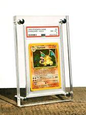 Gallery Display PSA Graded Trading Card Frame UV Stand Acrylic Case Pokémon