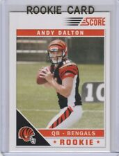 ANDY DALTON 2011 Score FOOTBALL ROOKIE CARD Cincinnati Bengals NFL RC