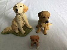 More details for three dog ornaments large one stef