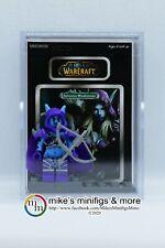 World of Warcraft Sylvanas Windrunner Custom Carded Minifigure Display Mini WoW