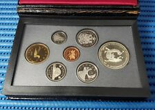 1988 Canada Proof Coin Set, $1 Saint-Maurice Ironworks Commemorative Silver Coin