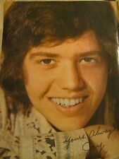 Jay Osmond, The Osmonds, Jimmy Osmond, Double Full Page Vintage Pinup